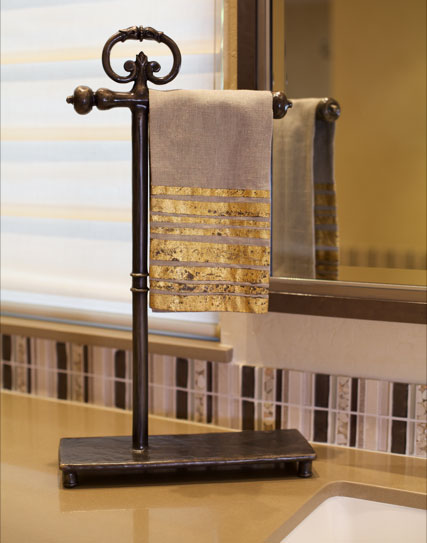 Hearst Castle Collection<sup>&reg;</sup> Freestanding Towel/Toilet Tissue Holder